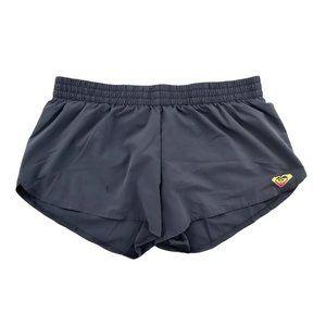 Roxy Running Shorts Women's Medium Gray Activewear